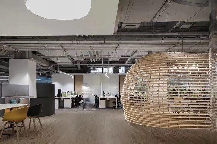 张家港现代办公家具案例